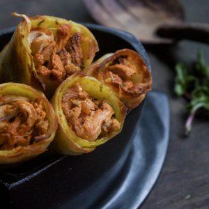 Chimichurri Chicken Roll