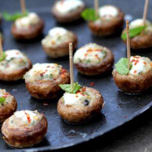 Tandoori Mushroom Cheese Melt
