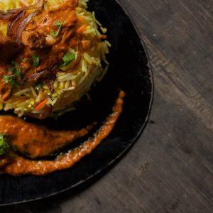 Hyderabadi Fish Biryani (Signature Dish)