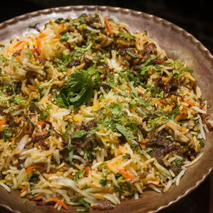 Hyderabadi Mutton Biryani (Signature Dish)